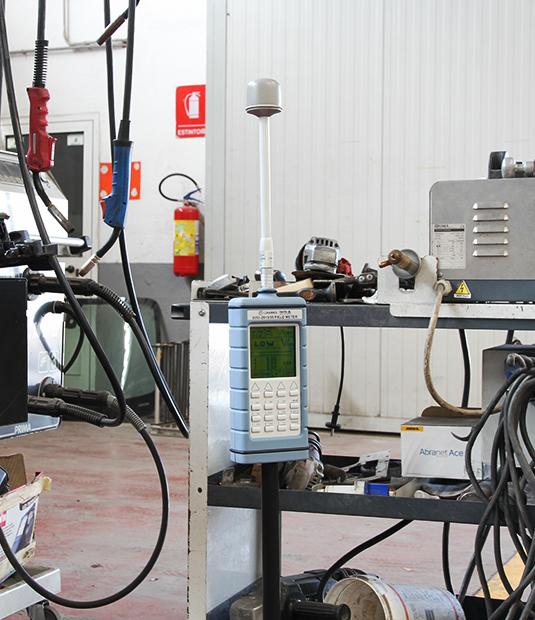 Misurazione campi elettromagnetici in alta e bassa frequenza